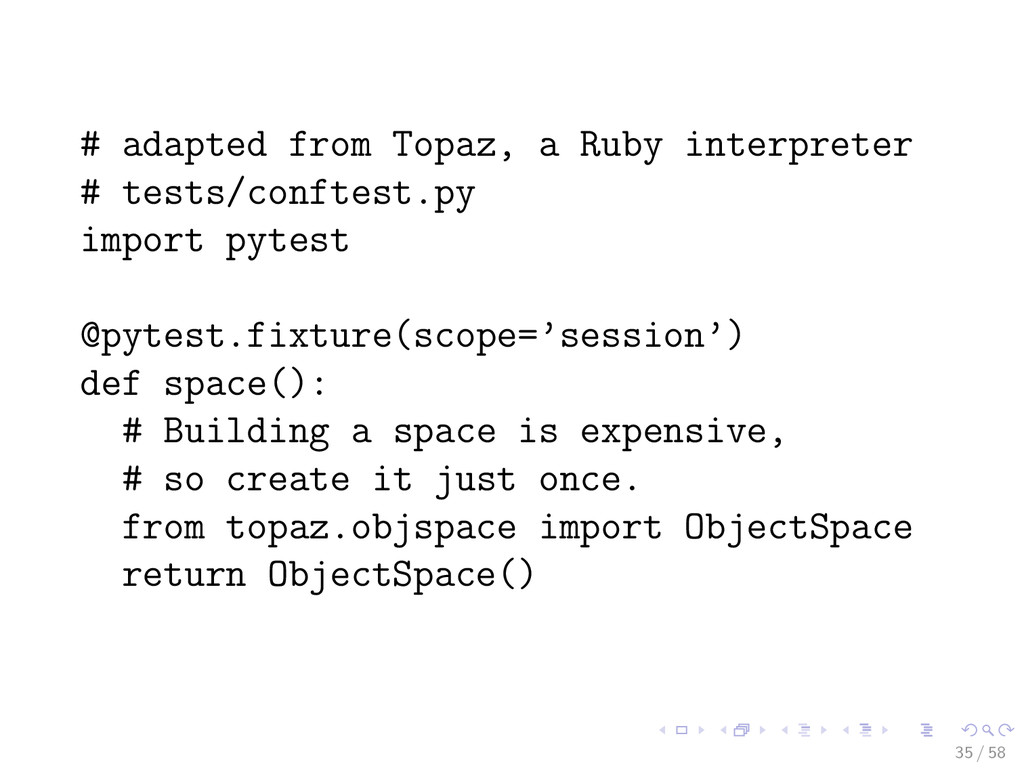 # adapted from Topaz, a Ruby interpreter # test...