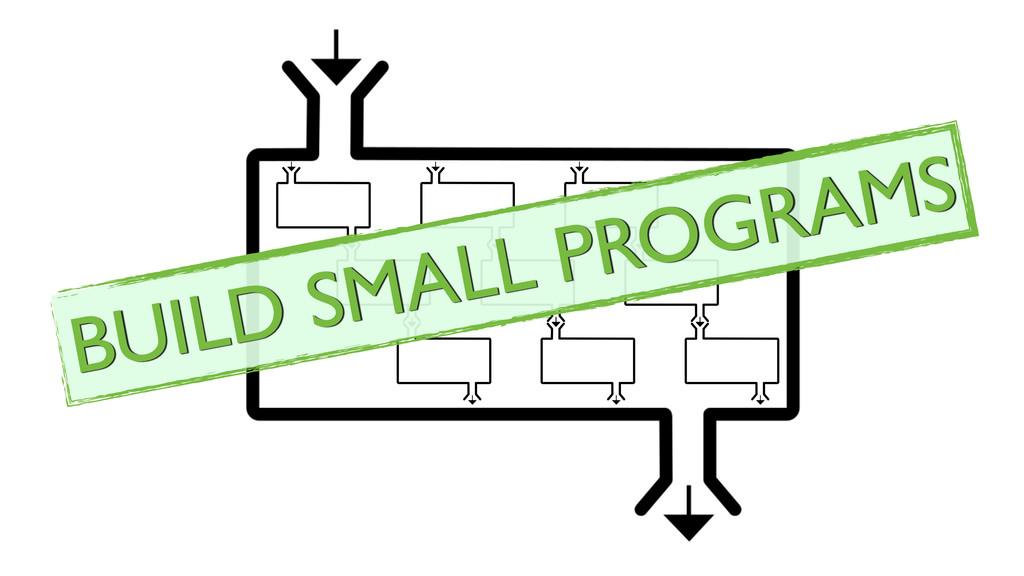 BUILD SMALL PROGRAMS