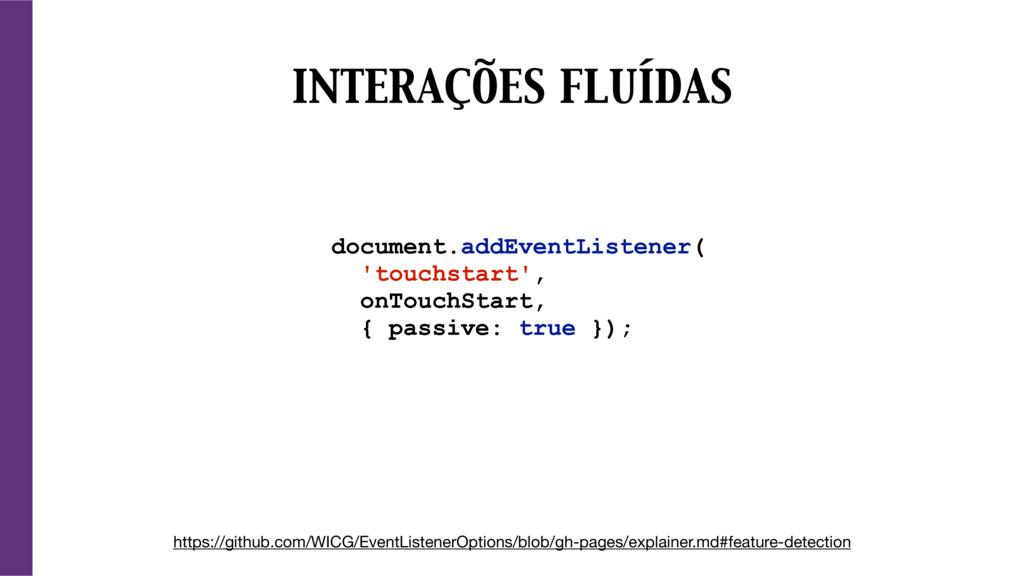 document.addEventListener( 'touchstart', onTouc...
