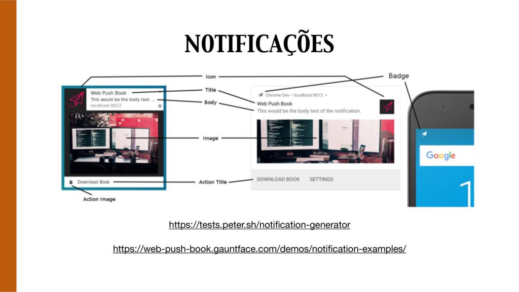 NOTIFICAÇÕES https://tests.peter.sh/notification...