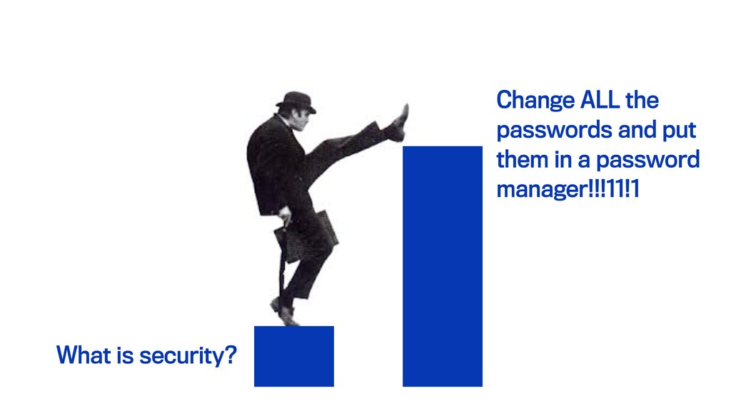What is security? Change ALL the passwords and ...