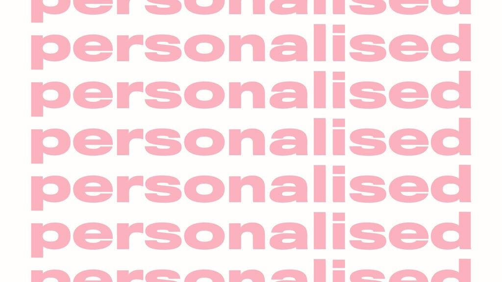 personalised personalised personalised personal...