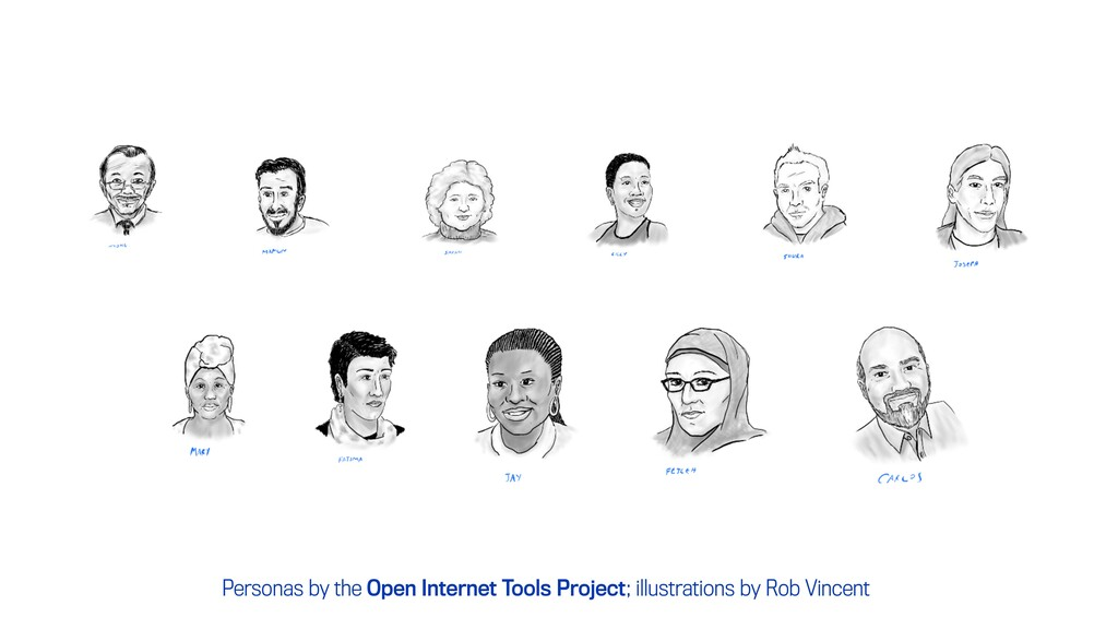 Personas by the Open Internet Tools Project; il...