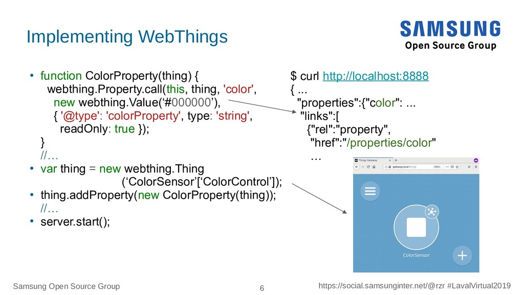Samsung Open Source Group 6 https://social.sams...