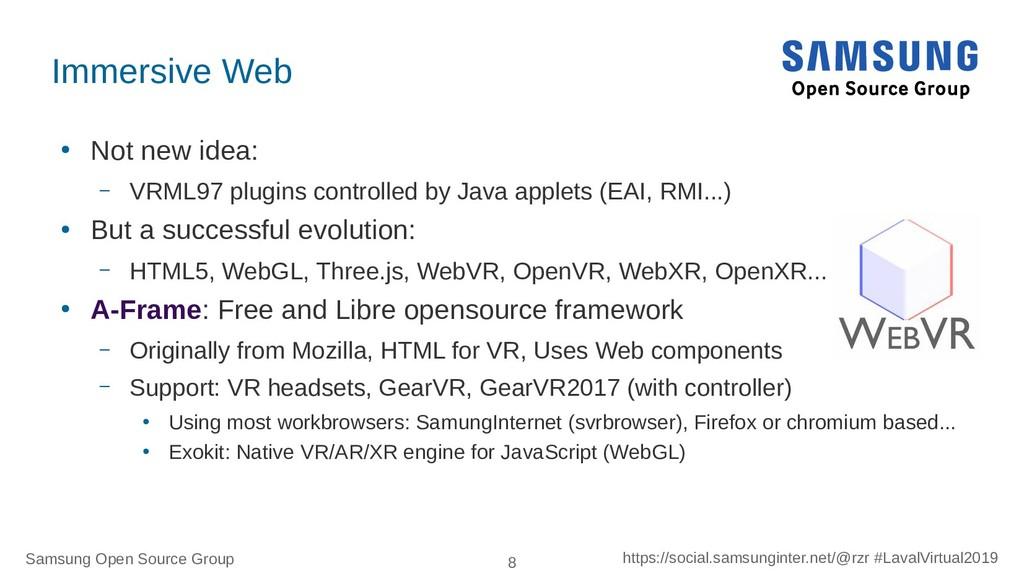 Samsung Open Source Group 8 https://social.sams...