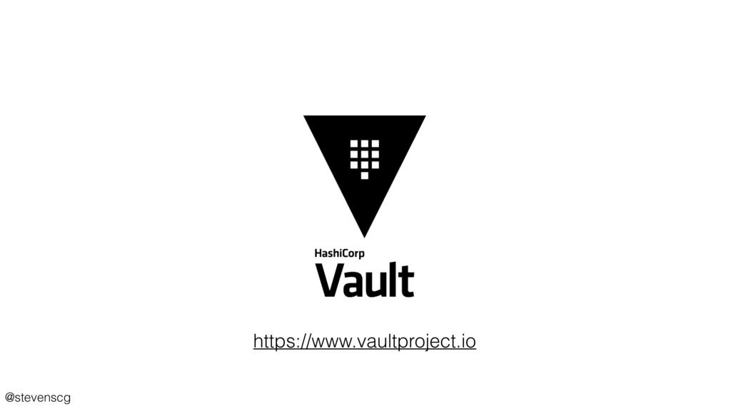 @stevenscg https://www.vaultproject.io