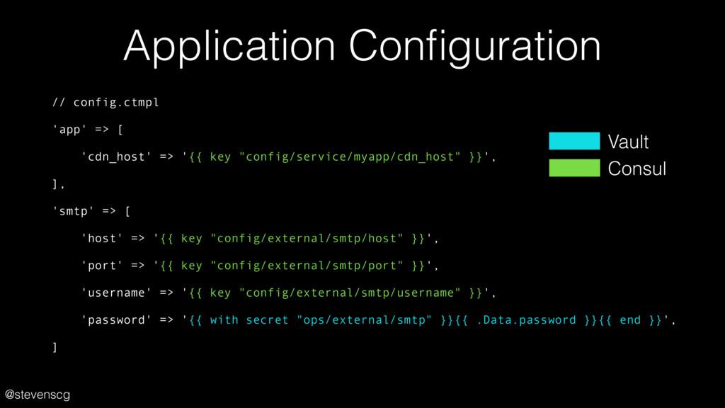 @stevenscg Application Configuration // config.c...