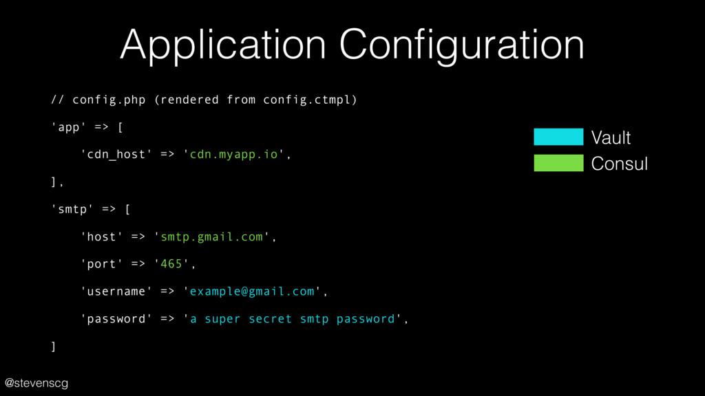 @stevenscg Application Configuration // config.p...