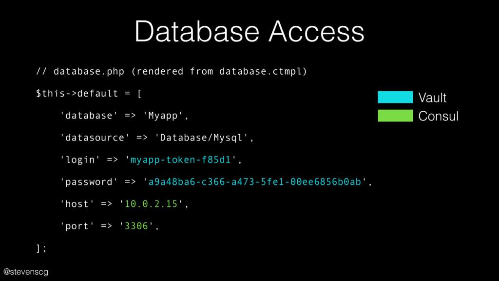 @stevenscg Database Access // database.php (ren...
