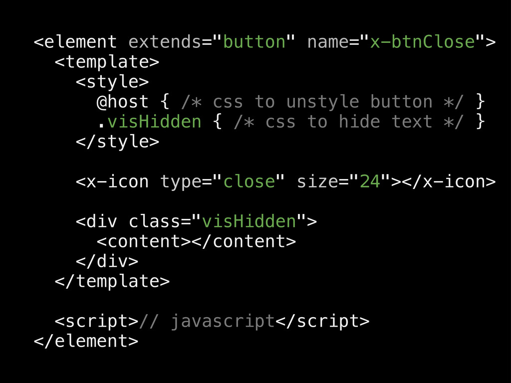 """<element extends=""""button"""" name=""""x-btnClose""""> <t..."""