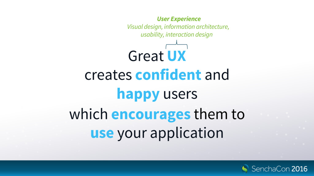 User Experience Visual design, information arch...
