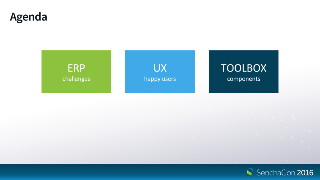 Agenda ERP challenges UX happy users TOOLBOX co...