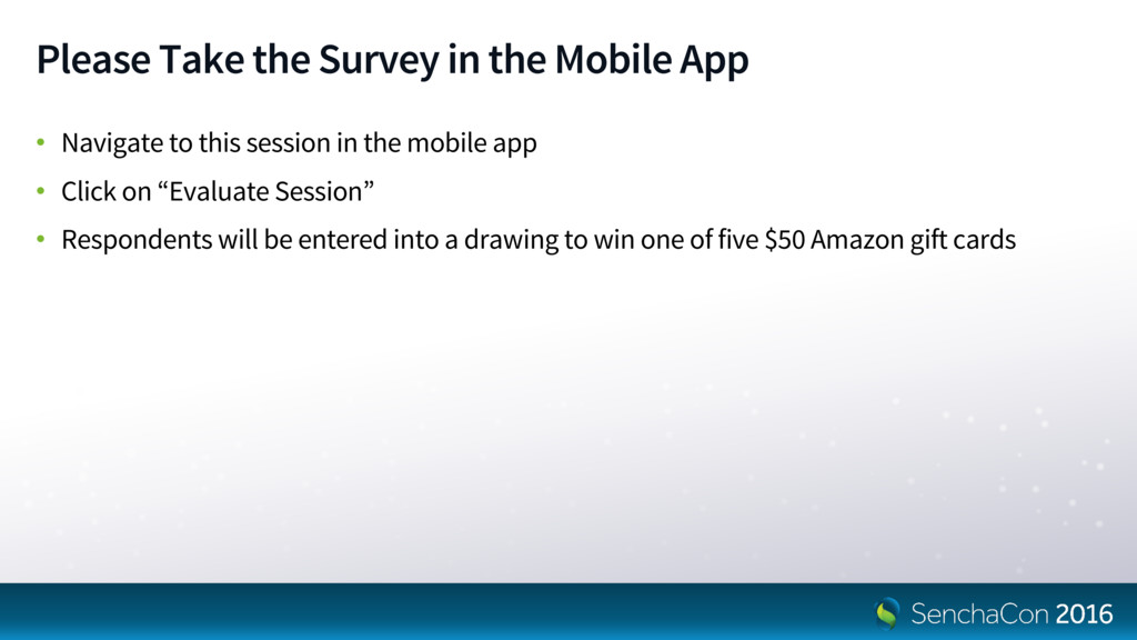 Please Take the Survey in the Mobile App • Navi...