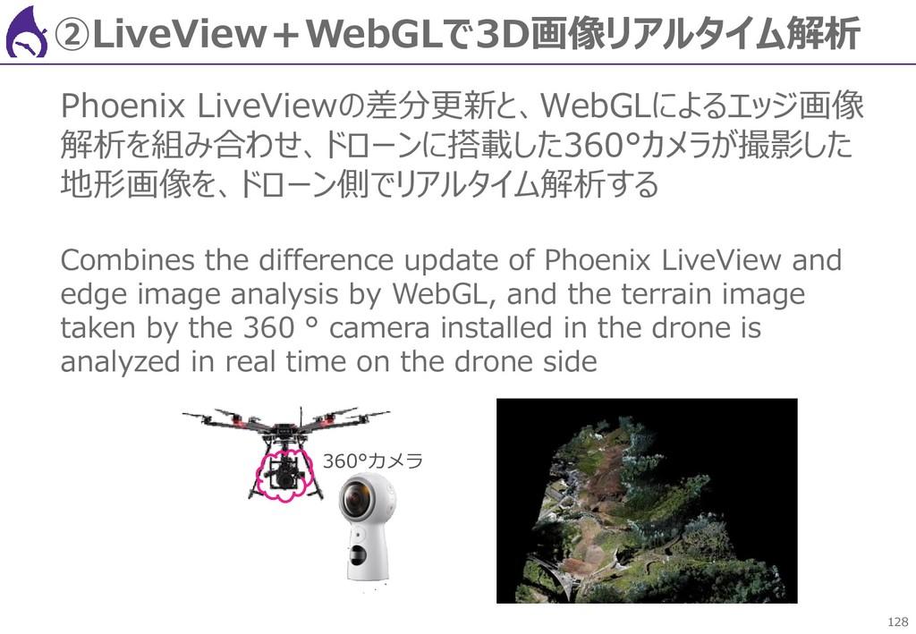 128 ②LiveView+WebGLで3D画像リアルタイム解析 Phoenix LiveVi...