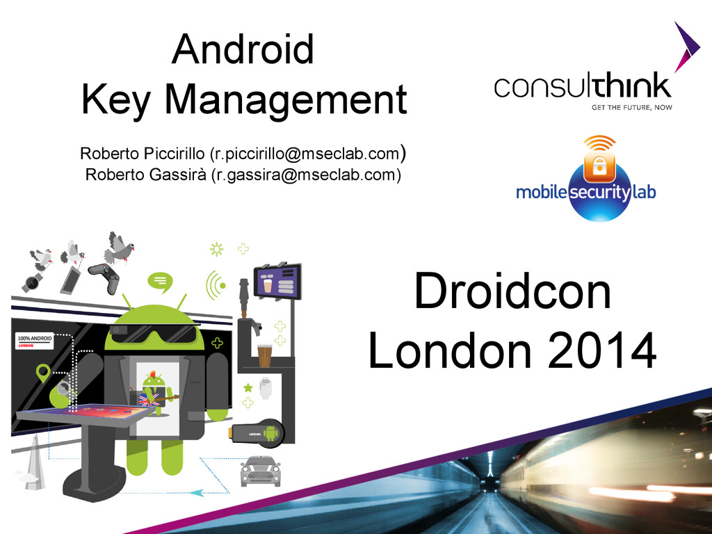 Android Key Management Roberto Piccirillo (r.pi...