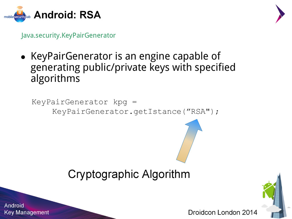 Android Key Management Droidcon London 2014 And...
