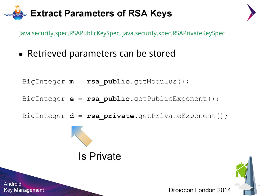 Android Key Management Droidcon London 2014 Ext...
