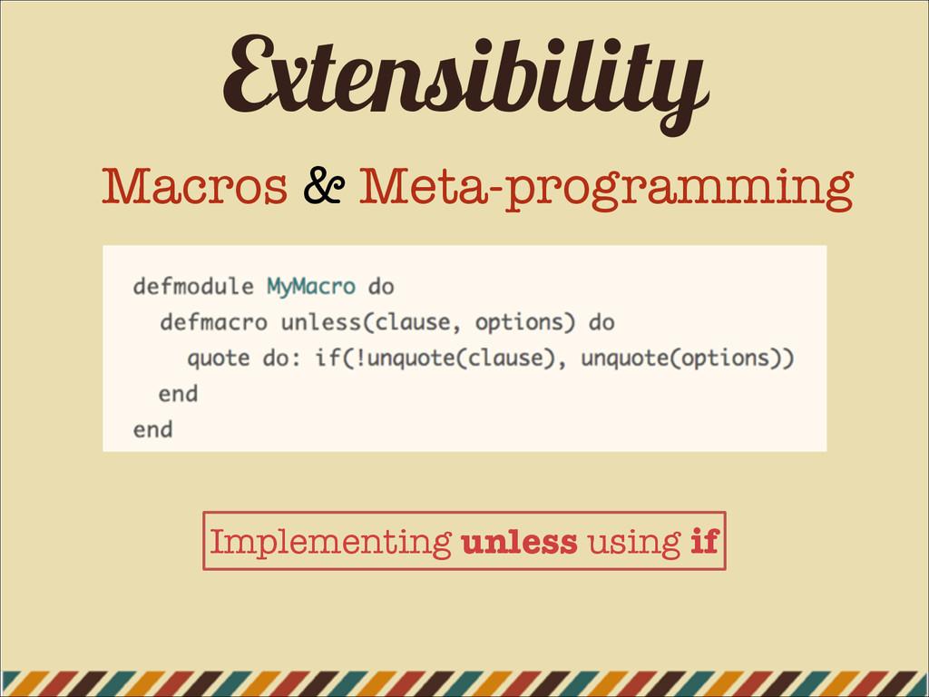 Extensibility Macros & Meta-programming Impleme...