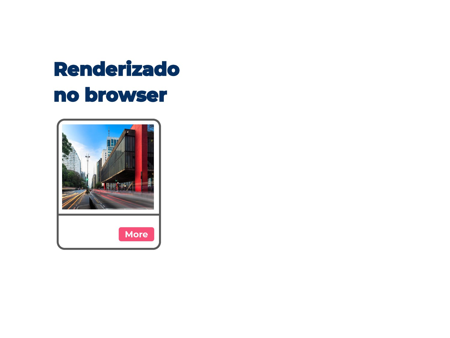 Renderizado no browser More