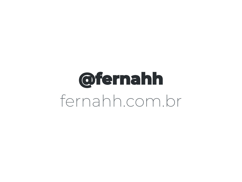 @fernahh fernahh.com.br