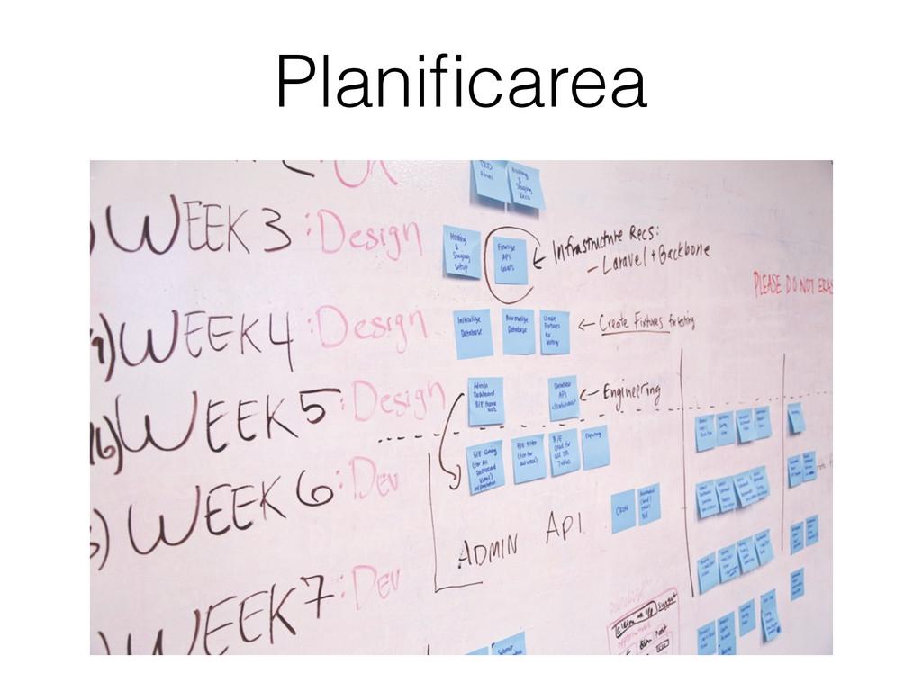 Planificarea