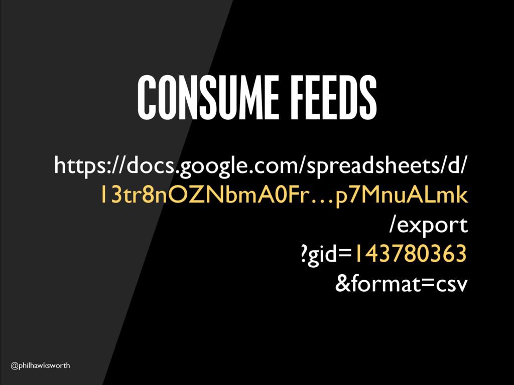@philhawksworth CONSUME FEEDS https://docs.goog...