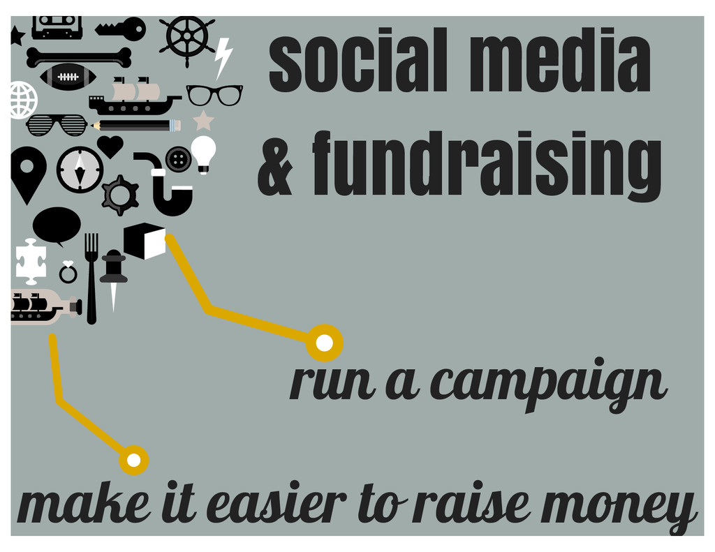make it easier to raise money run a campaign so...