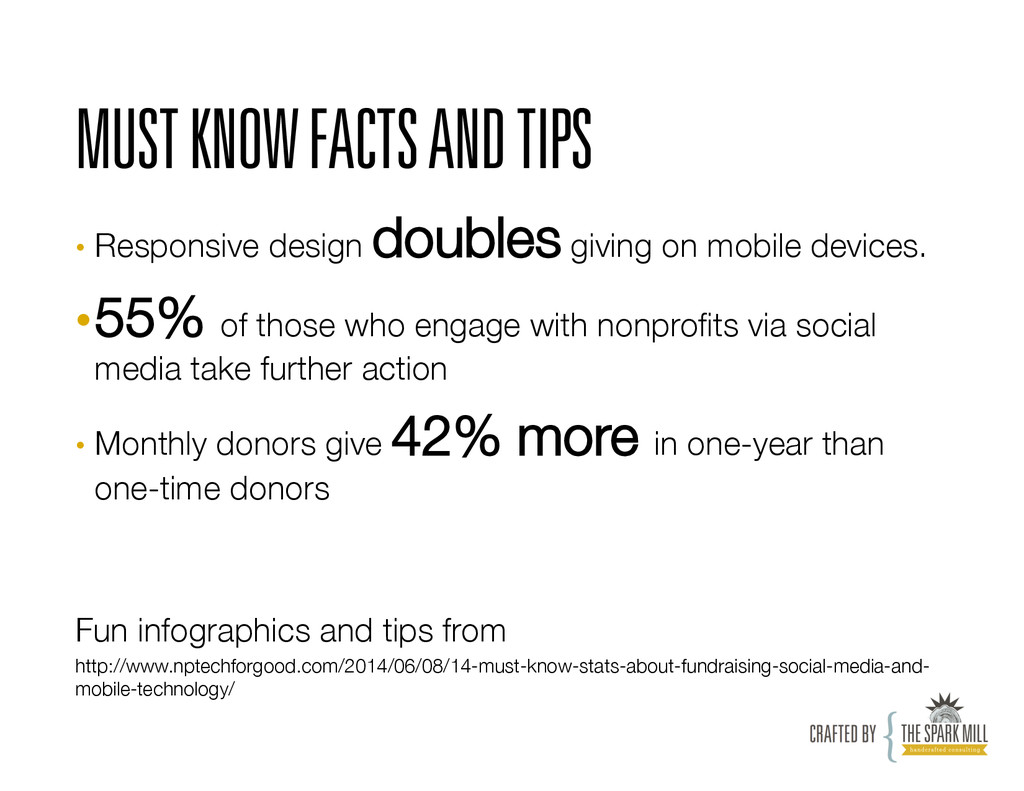 MUST KNOW FACTS AND TIPS • Responsive design d...
