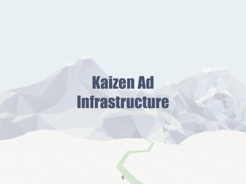 Kaizen Ad Infrastructure