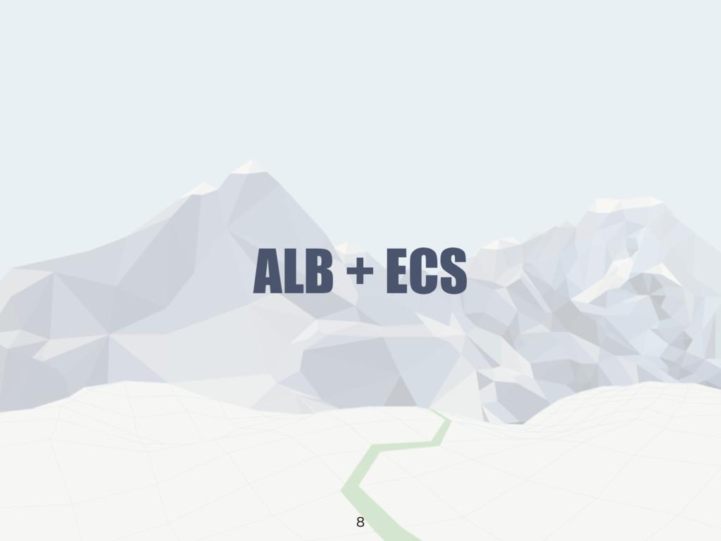 ALB + ECS