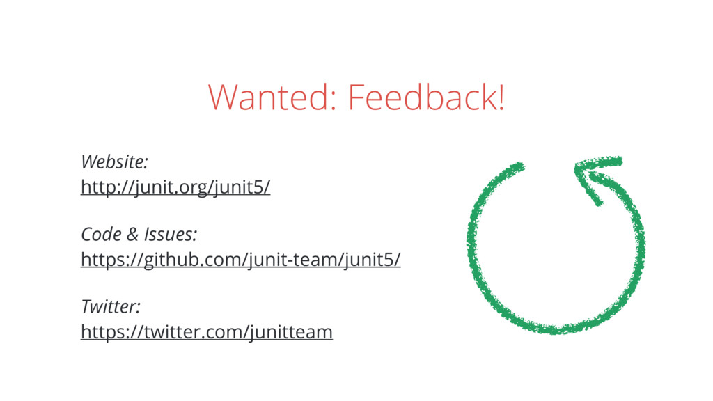 Wanted: Feedback! Website: