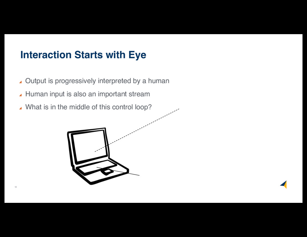 13 Interaction Starts with Eye Output is progre...