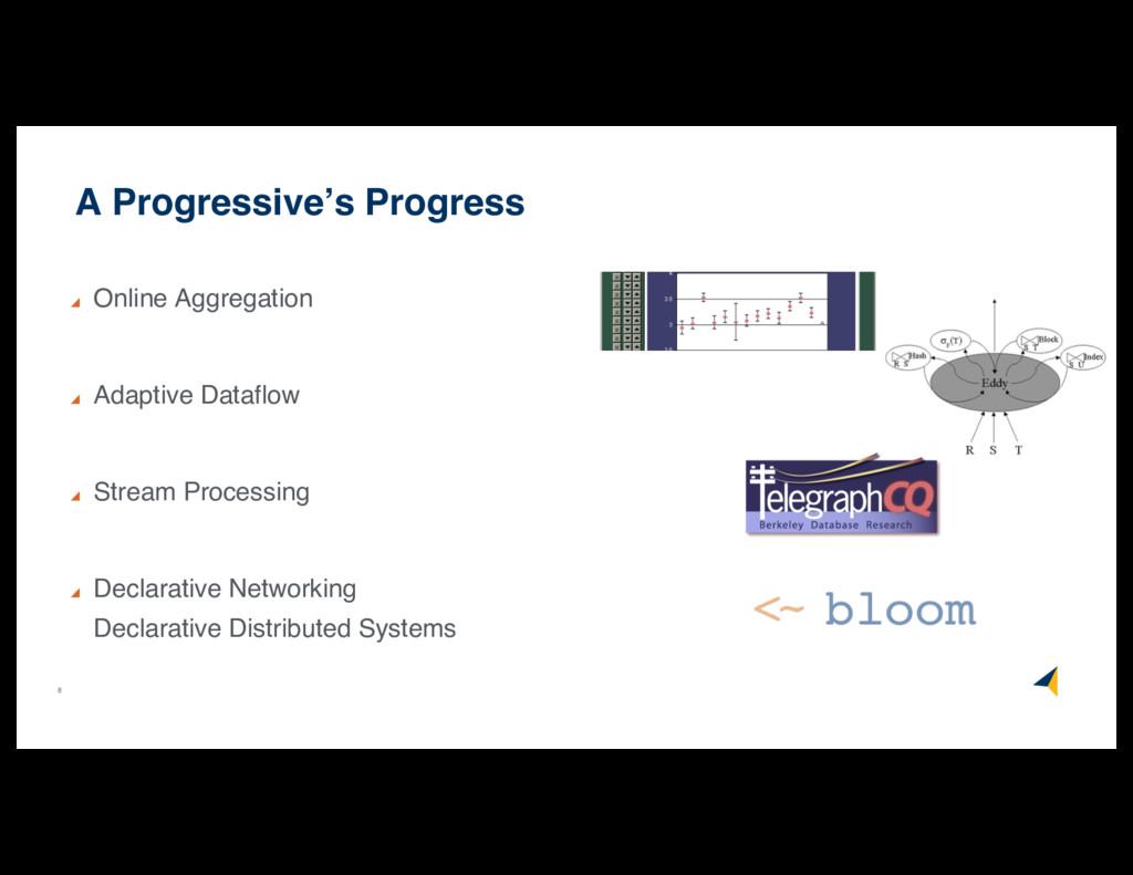 8 A Progressive's Progress Online Aggregation A...
