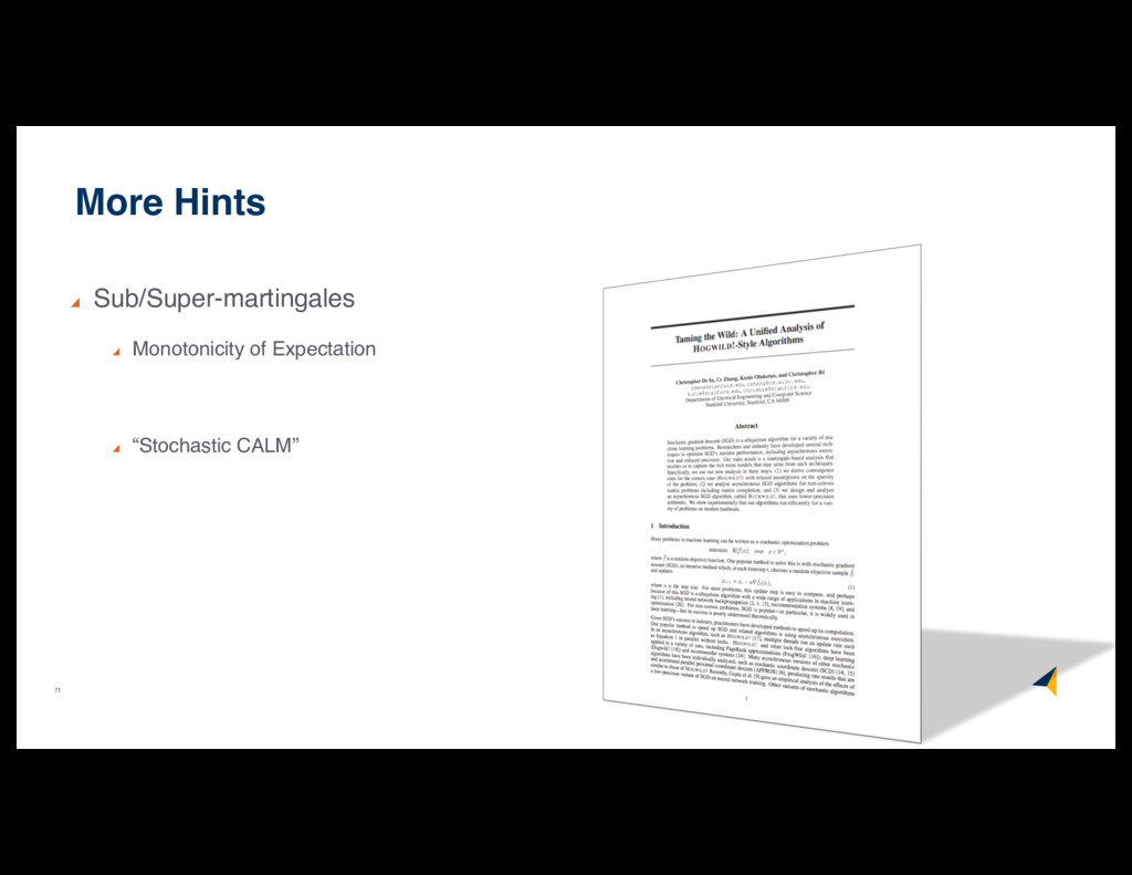 71 More Hints Sub/Super-martingales Monotonicit...
