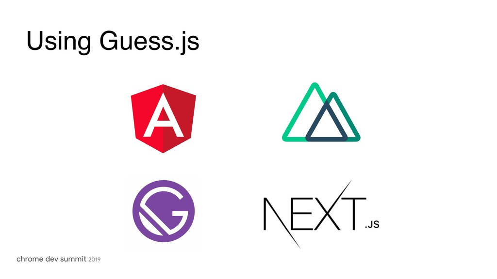 Using Guess.js