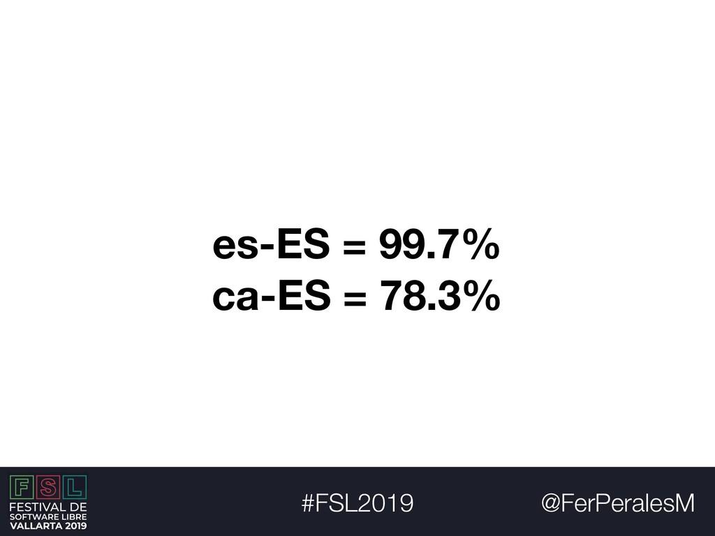 @FerPeralesM #FSL2019 es-ES = 99.7% ca-ES = 78....