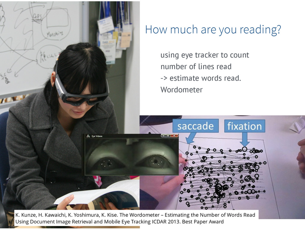 How much are you reading? using eye tracker to ...