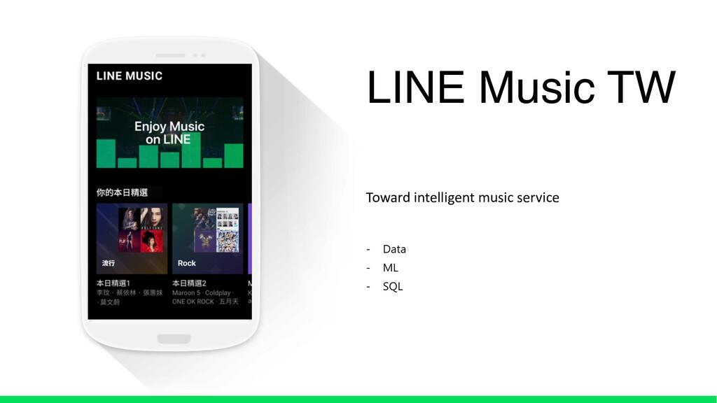 LINE Music TW Toward intelligent music service ...