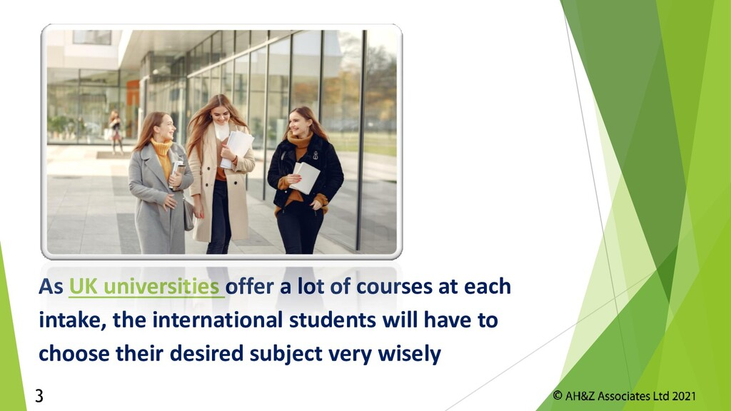 As UK universities offer a lot of courses at ea...