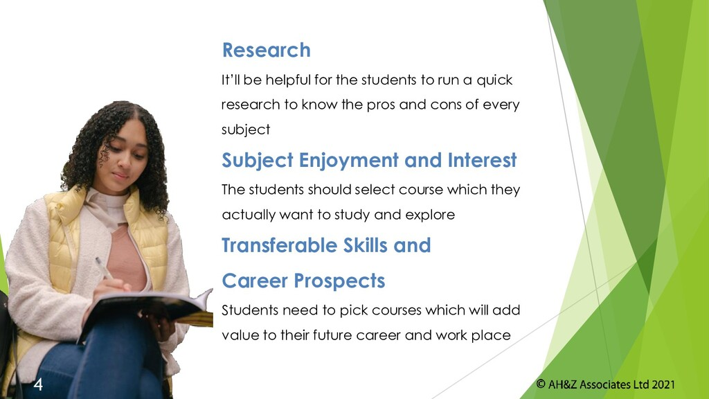 Research It'll be helpful for the students to r...
