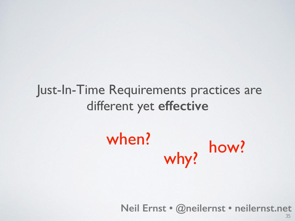 35 Neil Ernst • @neilernst • neilernst.net Just...