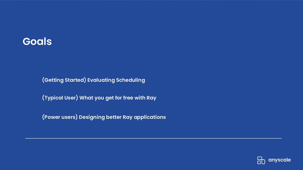 (Getting Started) Evaluating Scheduling (Typica...