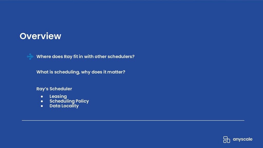 Where does Ray fit in with other schedulers? Wh...