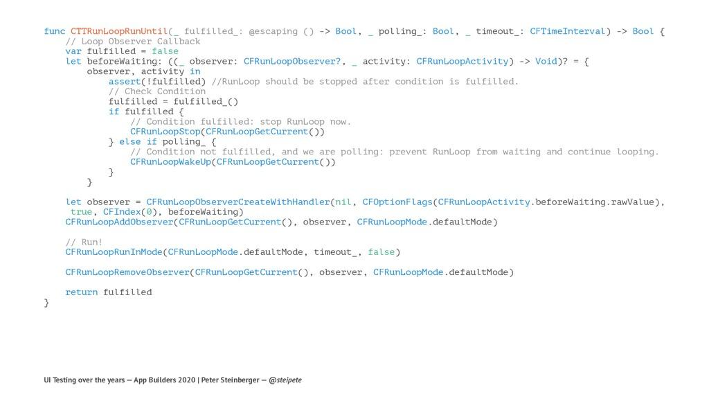func CTTRunLoopRunUntil(_ fulfilled_: @escaping...