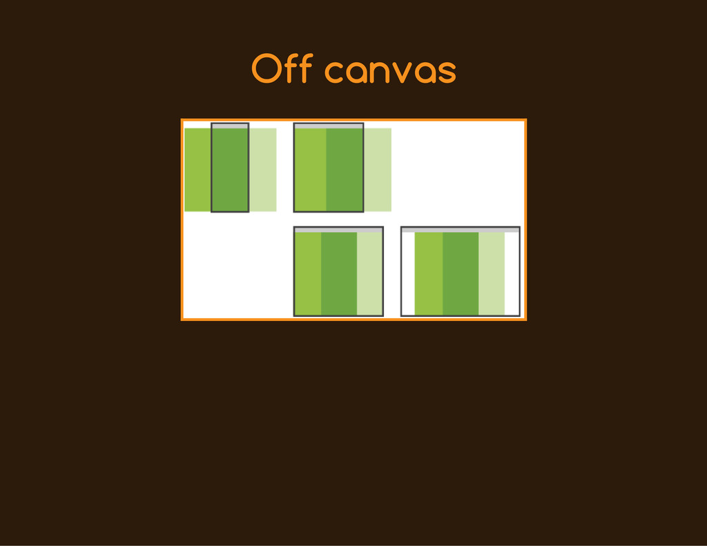 Off canvas