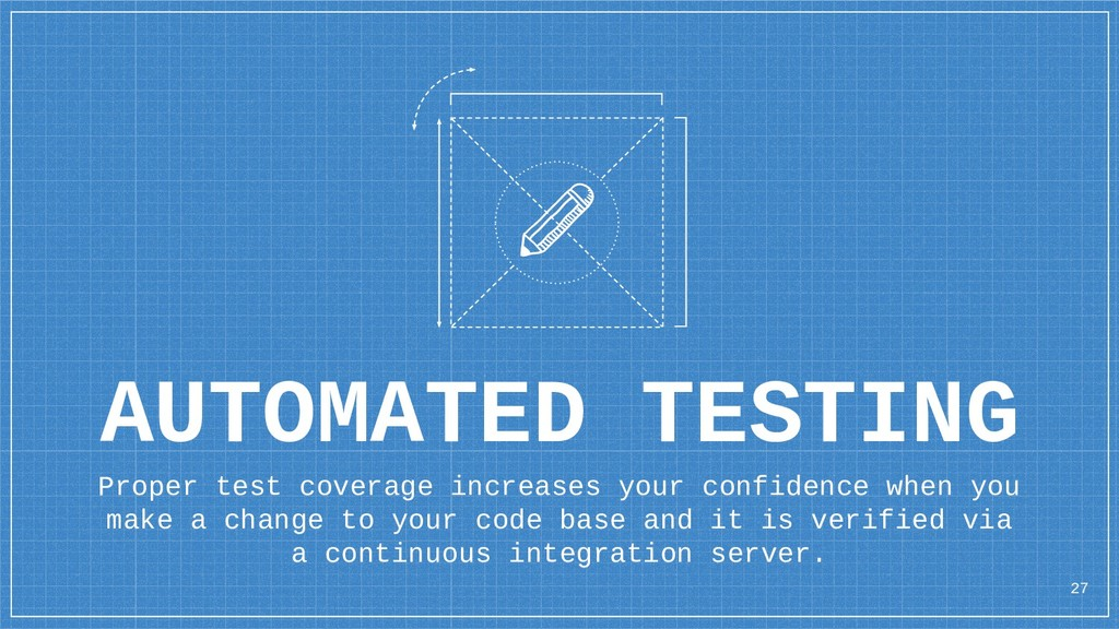 AUTOMATED TESTING Proper test coverage increase...