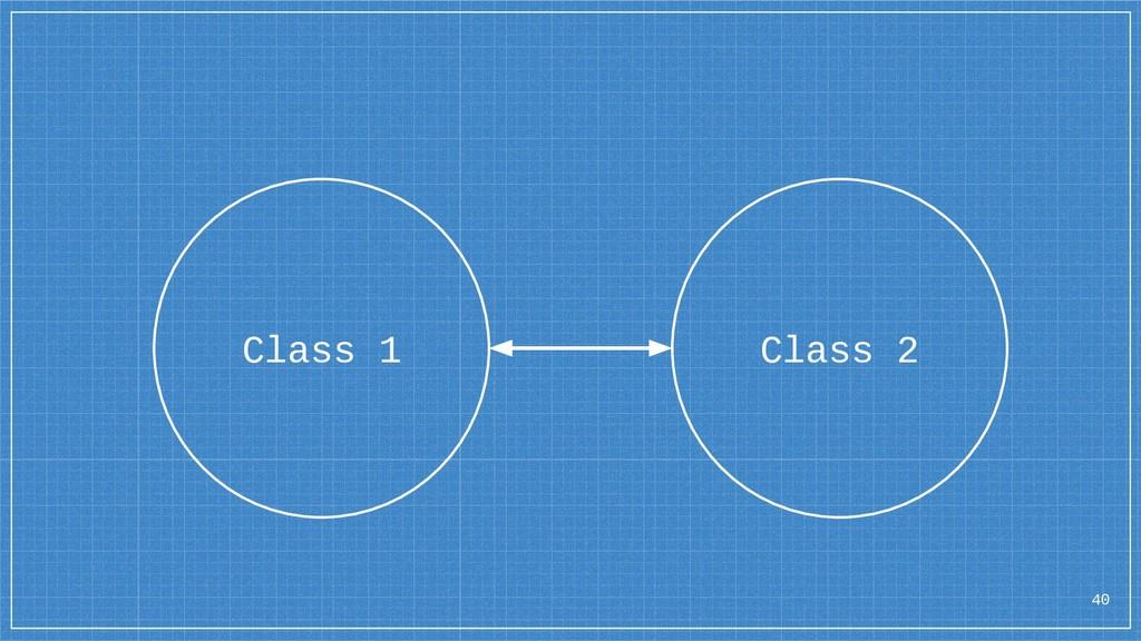 40 Class 1 Class 2