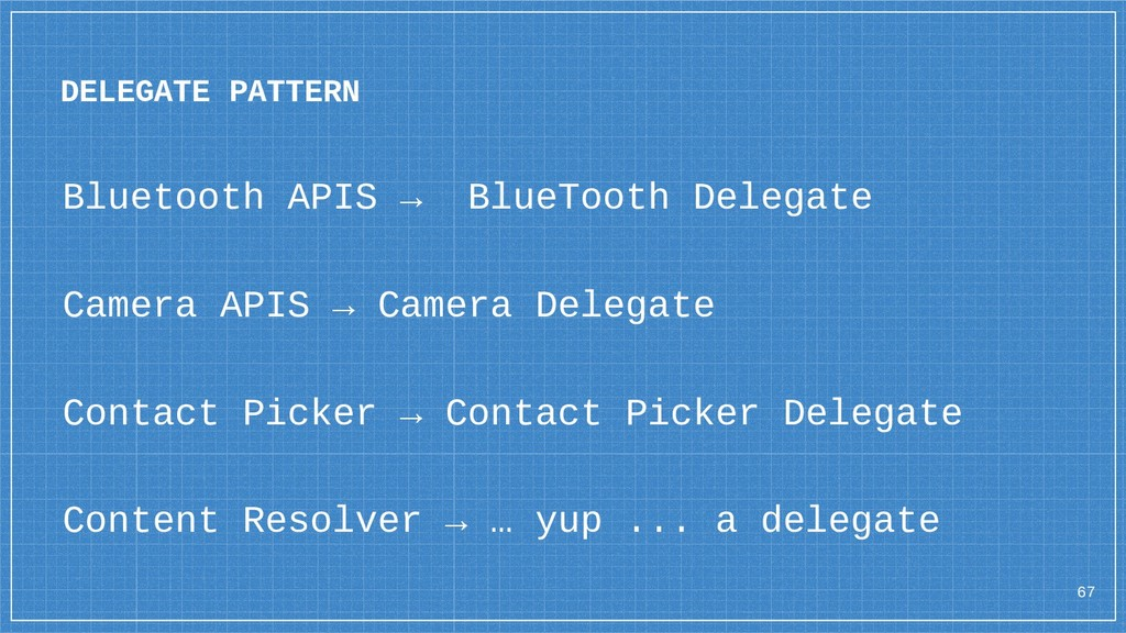 Bluetooth APIS → BlueTooth Delegate Camera APIS...