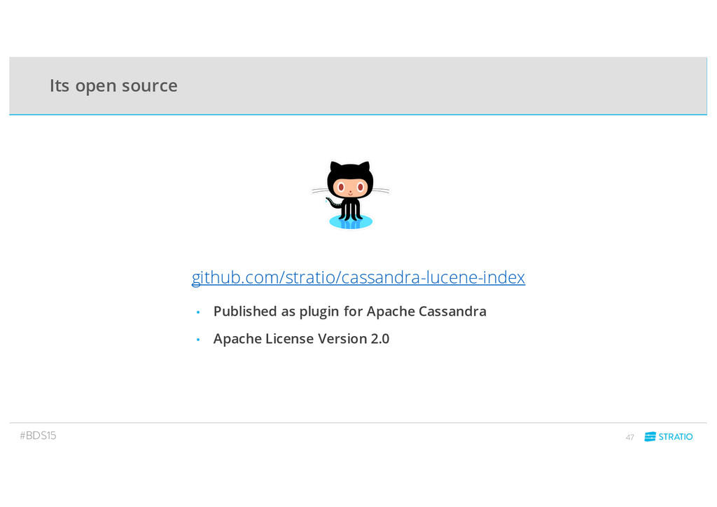 github.com/stratio/cassandra-lucene-index • Pub...