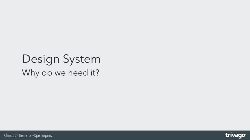 Christoph Reinartz - @pistenprinz Design System...